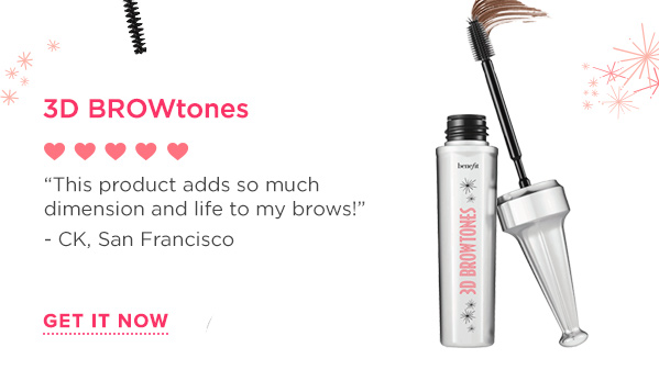 Brows come to life with this brush-on highlighting gel! The custom mess-proof brush applies evenly from root-to-tip. It softens the look of darker brows with subtle highlights and enhances lighter brows with depth & dimension. Wear alone or with your favorite brow pencil. Includes signature Tips & Tricks!